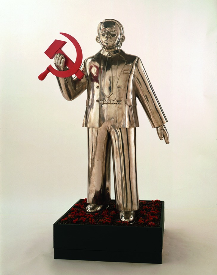 Man with Hammer and Sickle (from the series 'Paradise Lost')