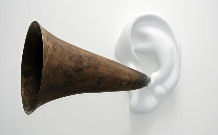 Beethoven's Trumpet (With Ear) Opus # 133