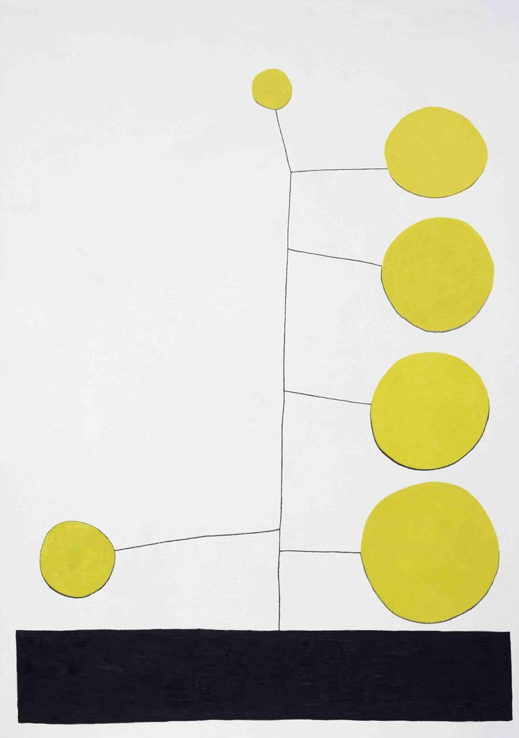 Untitled (Big Yellow Dot)