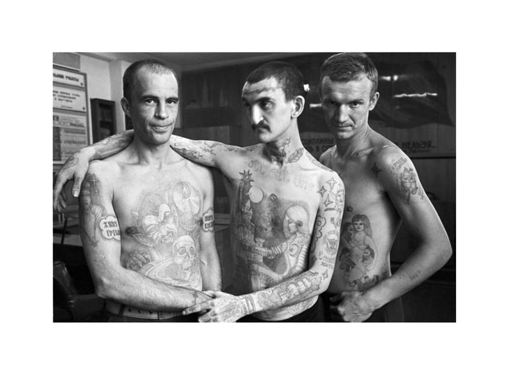 Russian Criminal Tattoo Encyclopaedia Print No.20
