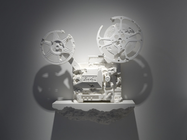 Crystal Eroded 16mm Film Projector, 2013