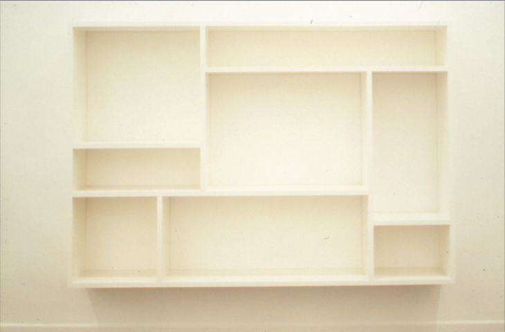 1991 Shelf Unit C to replace Tate's H, 1987