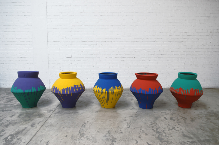 Coloured Vases, 2010