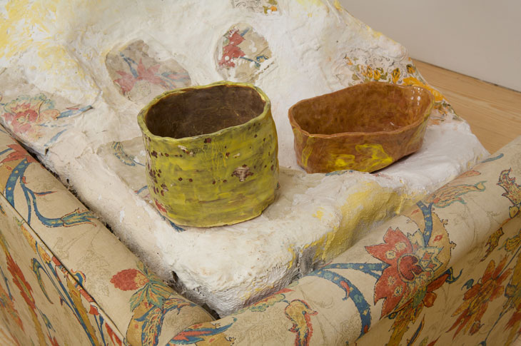 Loveseat and Bowls (detail)