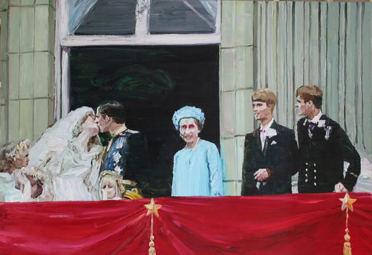 Wedding (There Are Six Differences In The Two Paintings)