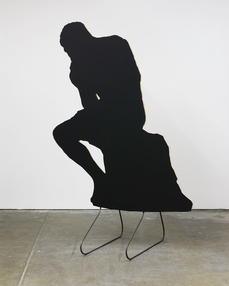 Peter Coffin - Sculpture Silhouette Prop (A. Rodin 'The ...