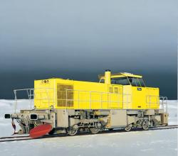 Untitled (Yellow Locomotive)