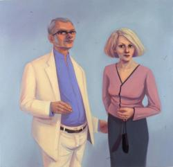 Portrait of Mr & Mrs Richard Surface