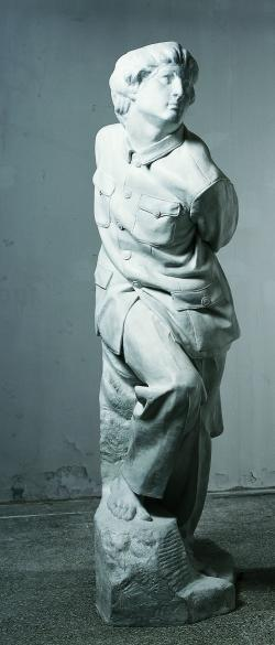 Clothes Vein Studies: Bound Tied Slave (with Mao Jacket), 1998