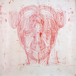 Untitled (Red Face)